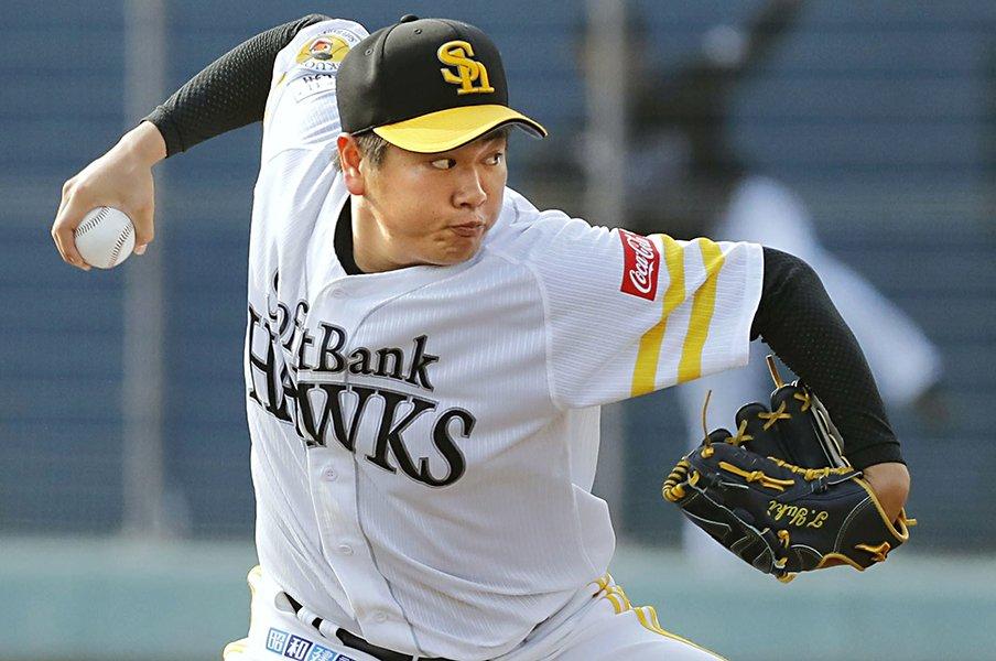 パの新人王に推す、狂気の右投手。津森宥紀を3位で取れたSBの幸運。<Number Web> photograph by Kyodo News