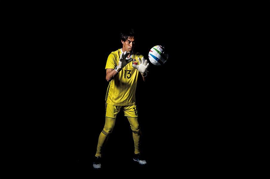 元J守護神・榎本達也が驚きの決断。なぜブラインドサッカーに転向?<Number Web> photograph by Shiro Miyake