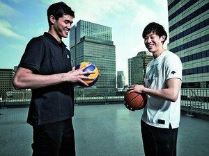 <バスケ&バレー頂上対談>渡邊雄太×石川祐希「だから、僕らは世界に挑む」