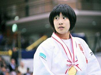 """柔道女子48kgの""""新星""""、18歳の近藤亜美に注目。~谷、福見、浅見超えを目指せ~<Number Web> photograph by Shino Seki"""