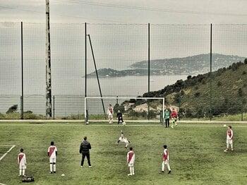 世界で最もセレブな街のサッカー事情。ASモナコの躍進と、その国民の悲願。<Number Web> photograph by Frederic Mons