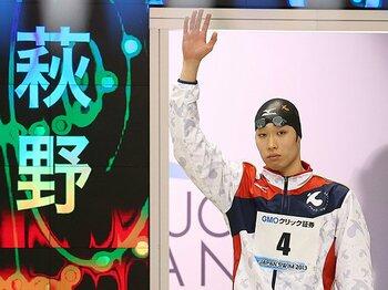 日本初マルチスイマー。~5冠達成・萩野公介の潜在能力~<Number Web> photograph by Daiju Kitamura/AFLO SPORT