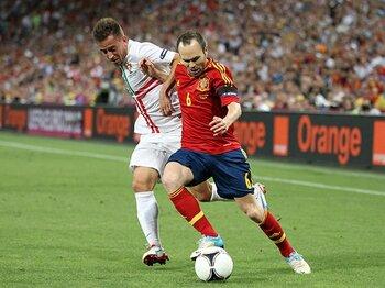 スペイン、初戦ポルトガルは歓迎?2大会ぶりW杯制覇へ楽観ムードが。<Number Web> photograph by Getty Images