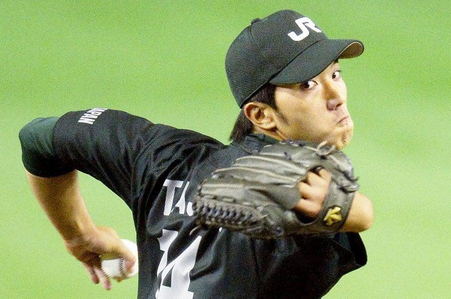 都市対抗のプロ候補投手11人。ストレートと、もう1つの条件とは?<Number Web> photograph by Kyodo News