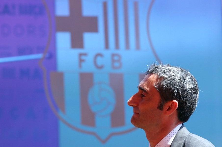 バルサ新監督バルベルデとは何者。バスクで磨いたクライフイズム。<Number Web> photograph by AFLO