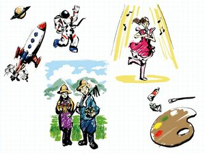 未来資金100万円贈呈「大人の未来図」大募集!!