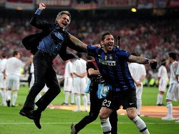 欧州CL決勝に新時代の戦術を見た!モウリーニョがインテルにかけた魔法。<Number Web> photograph by Getty Images