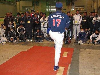 元プロ野球選手が語る濃密な技術論。「野球指導者講習会」徹底レポート!<Number Web> photograph by Junji Koseki