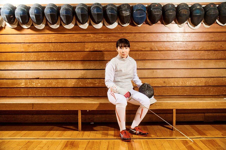 「男子みたいなフェンシングだって言われますが」五輪でメダル目指す19歳、上野優佳が掲げる理想像
