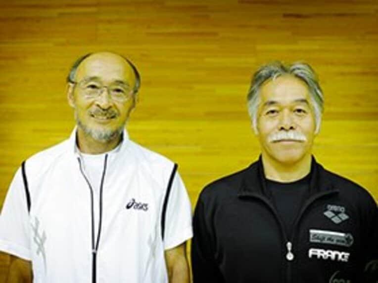 二人三脚で30年以上、体操競技の底辺を支え続けてきた2人。田中は61歳、伊熊は58歳になったが、いまなお指導に忙しい日々を送る / photograph by