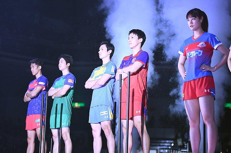 卓球・Tリーグは世界的にも凄い!?選手、観客数、国際比較で検証する。<Number Web> photograph by 2018 T.LEAGUE