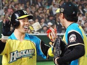 近藤健介の「夢の4割」実現の条件。左打者、足、そして安打より四球!