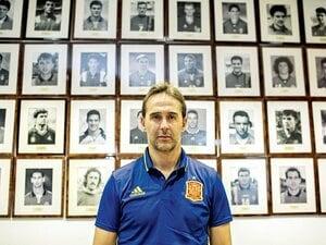 スペイン代表の黄金時代も今や遠く――。ロペテギ現監督が考える次世代構想。