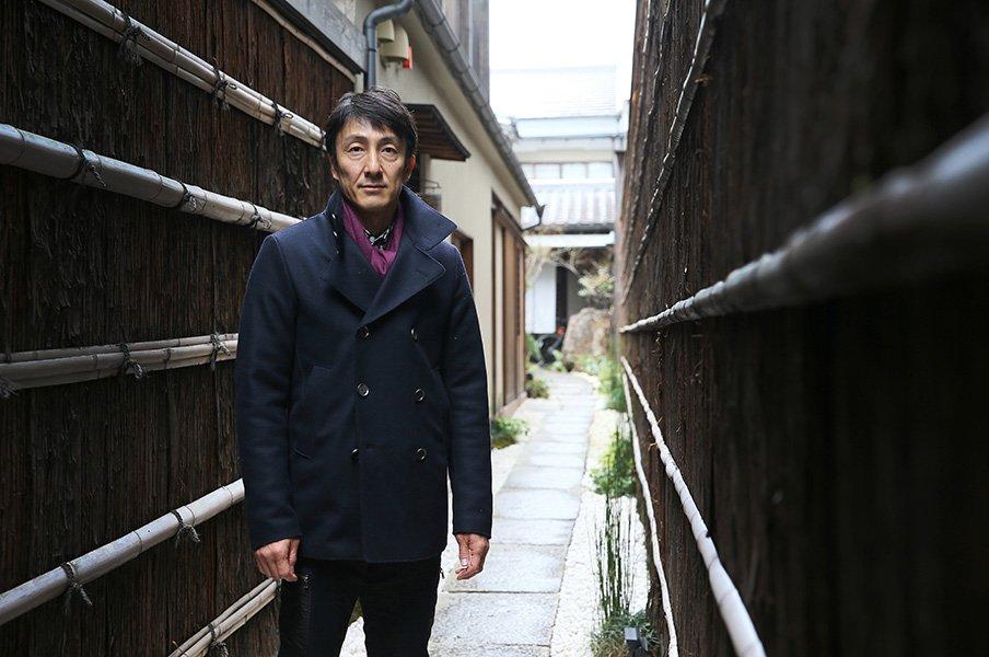 元100m日本記録保持者・朝原宣治が今も信じる自分の可能性。<Number Web> photograph by Shigeki Yamamoto