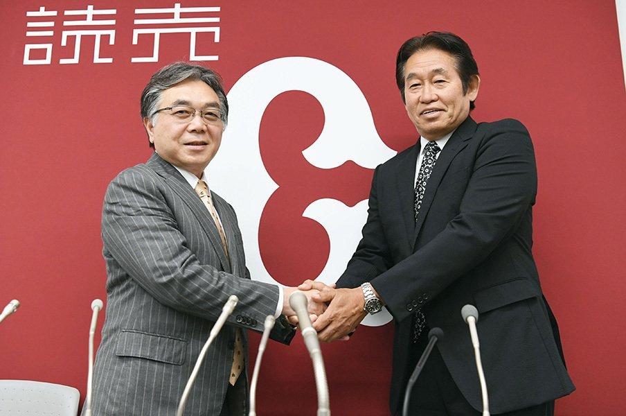 巨人で埋もれた才能を掘り起こせ!鹿取新GMに託された育成の再建。<Number Web> photograph by Kyodo News