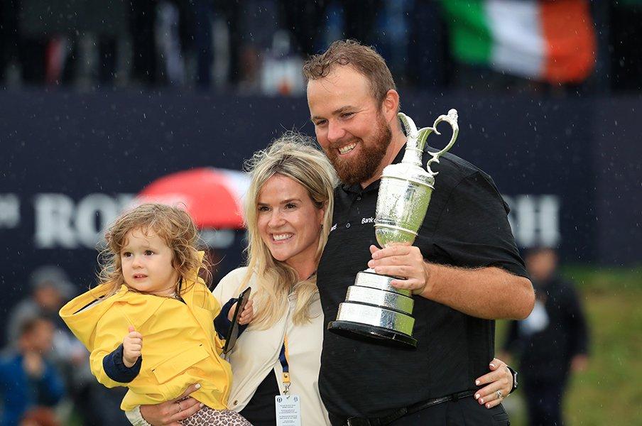 全英OP初優勝は「シュールな経験」?シェーン・ローリーのゴルフと家族。<Number Web> photograph by Getty Images