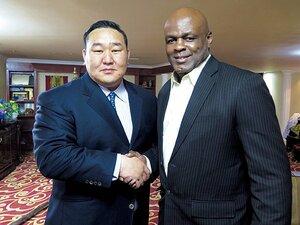 プロデューサー朝青龍が語る、モンゴル格闘技界の今。~セミナーにはアーネスト・ホーストも登場~