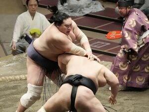 """""""ご意見番""""武蔵丸「他の力士はもっと照ノ富士の研究をしなきゃ」「朝乃山は落ち込んでいる場合じゃないよ」"""