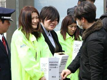 ひとりではなく、オールジャパンで!スポーツ選手の支援と本当の「復興」。<Number Web> photograph by Takaomi Matsubara