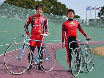 <日本一の兄弟競輪レーサー> 村上義弘&村上博幸 「魂の轍」<Number Web> photograph by Hideki Sugiyama