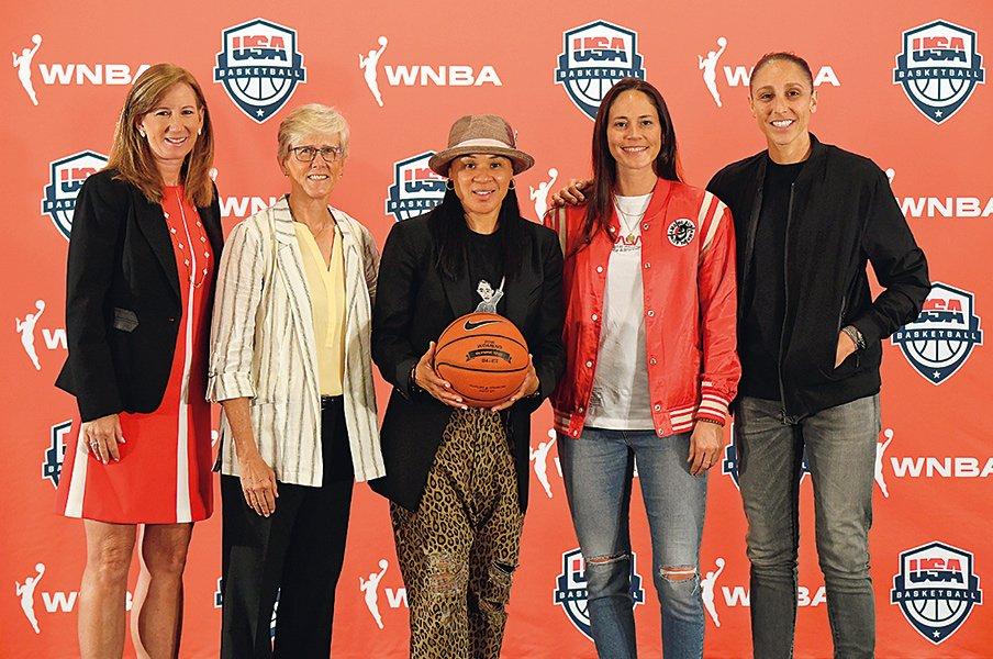 東京五輪に向けた米女子代表の強化計画とWNBAの価値向上。~女子バスケの待遇を上げるために~<Number Web> photograph by Getty Images