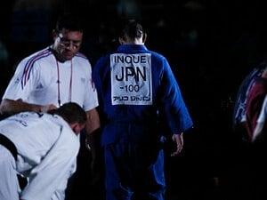 井上康生は無敵のヒーローだった。2003年、世界選手権の「背中」。