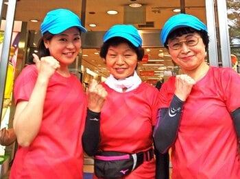 79歳、55歳、27歳マラソン挑戦記。靴、服、タイツを買うのに4時間!?<Number Web> photograph by Aya Nakajima