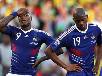 空中分解したフランス代表。グループリーグ敗退の真相。~前回準優勝国を蝕んだ人間関係~<Number Web> photograph by Getty Images