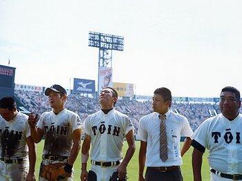 <夏の甲子園・涙の4度目V> 大阪桐蔭 「平成最強校の見えざる執念」<Number Web> photograph by Shota Matsumoto