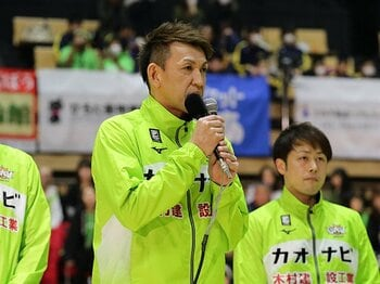 Bリーグ平均入場者2位は北海道!レジェンド折茂武彦が語る運営術。<Number Web> photograph by B.LEAGUE