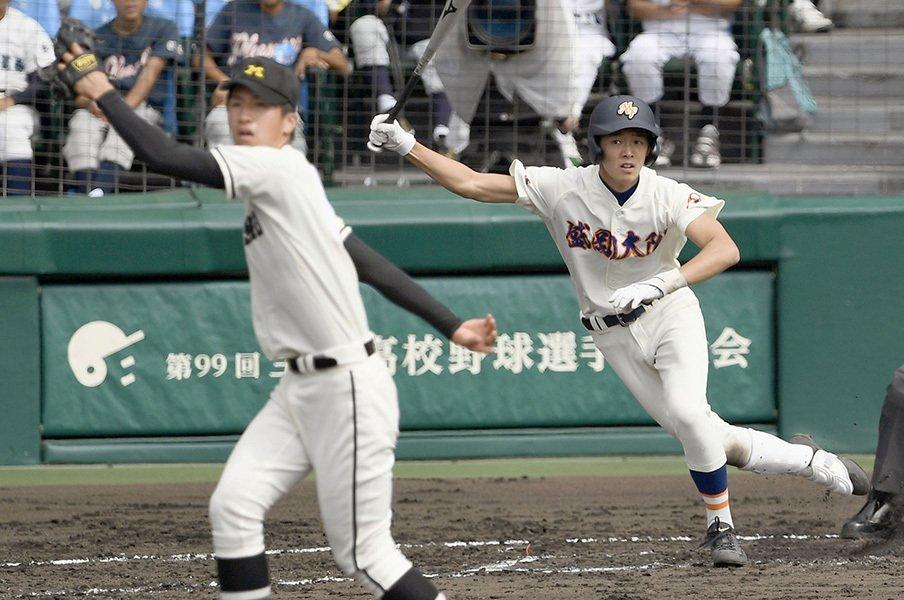 あんなに不器用だった盛岡大付が……。甲子園で試合巧者になる方法とは。<Number Web> photograph by Kyodo News