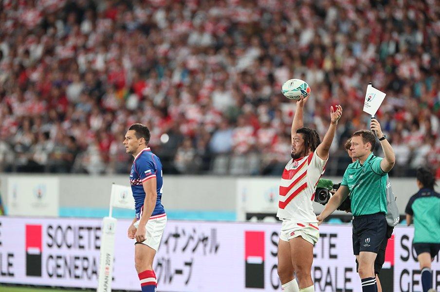 今、大きく感じる堀江翔太の言葉。「準々決勝も勝って準決勝まで行く」<Number Web> photograph by Naoya Sanuki