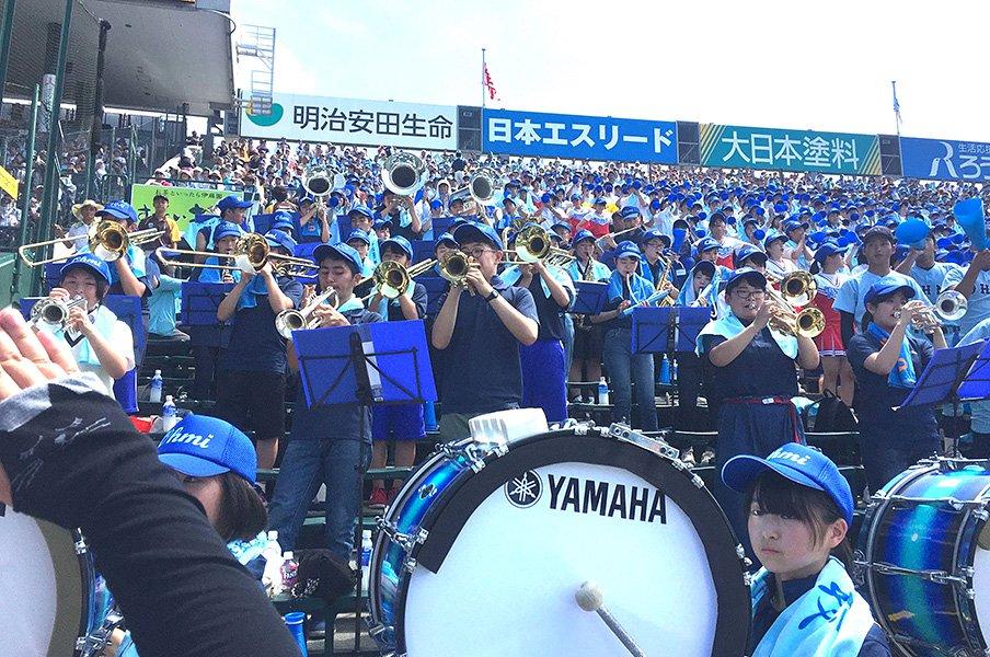 吹奏楽の大会が甲子園と重なった!!「ブラバン応援ゼロ」をどう避ける?<Number Web> photograph by Yukiko Umetsu
