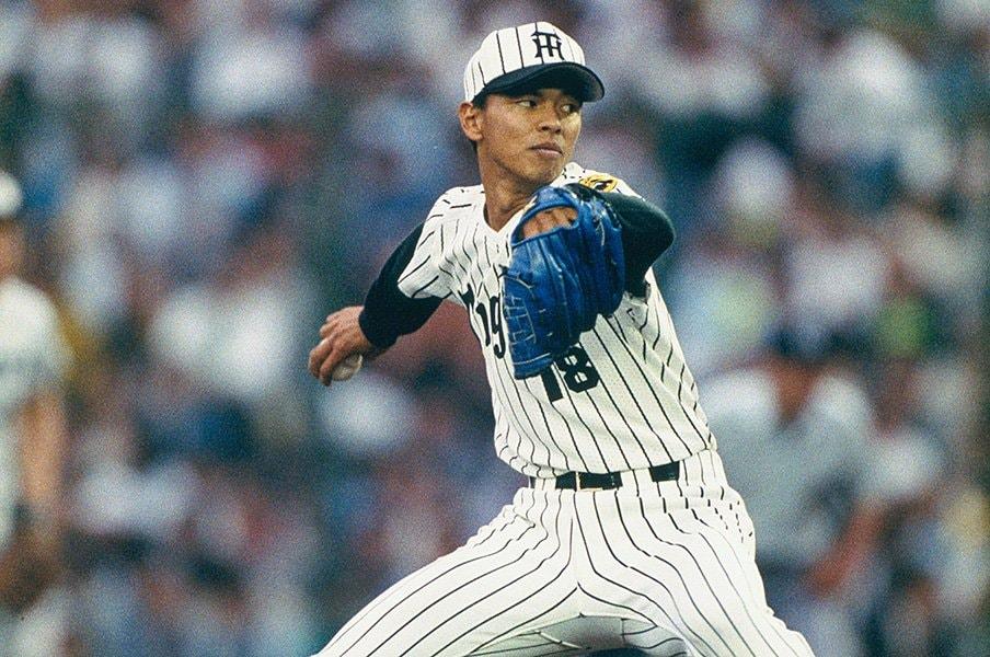 藪恵壹が語る、No.1の天敵とは?打たれた満塁弾、巨人との苦い記憶。<Number Web> photograph by Kazuaki Nishiyama