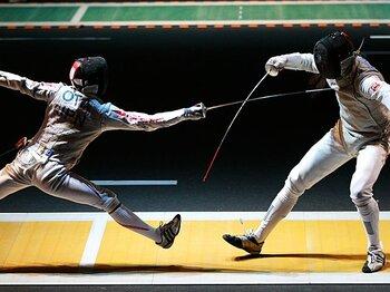 <日本フェンシング第2章へ> 太田雄貴&男子フルーレ団体 「もうひとつのメダルは仲間とともに」<Number Web> photograph by Asami Enomoto