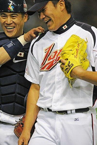 【第2回WBC 第1ラウンドGame1・中国戦】 侍JAPANでの公式戦初登板を飾った田中将大。