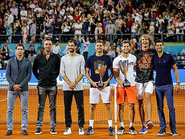 ジョコビッチ陽性と感染予防の不備。テニス界に突きつけられた難題とは。<Number Web> photograph by Getty Images