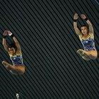 息を合わせて空中遊泳。~ロンドン五輪2012~