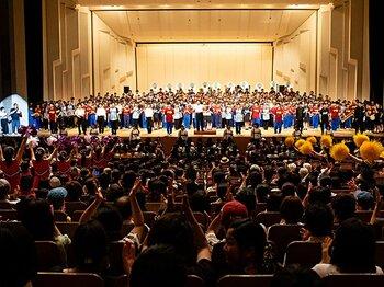 甲子園の応援がコンサートになった!?「ブラバン!甲子園ライブ」誕生秘話。<Number Web> photograph by KYODO TOKYO