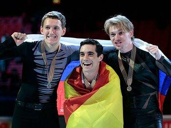 ハビエル・フェルナンデスが3連覇!欧州フィギュアで26年ぶり偉業達成。<Number Web> photograph by AP/AFLO
