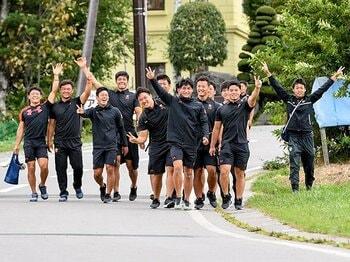 体育会系の上下関係はもう古い。大学ラグビー帝京と明治の共通点。<Number Web> photograph by Yuka Shiga