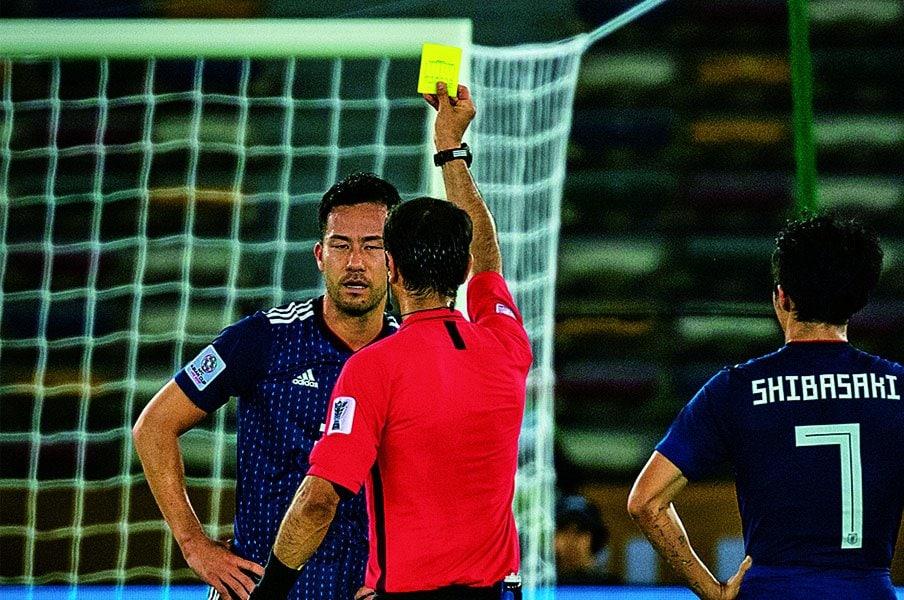 ハンド厳格化と橋本治のサッカー論。~足を脳による支配から解放する、という思想~<Number Web> photograph by Takuya Sugiyama