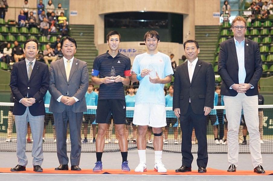 錦織圭も復帰舞台とした下部大会。直面する日本開催減の危機とは?<Number Web> photograph by Hyogo Tennis Association