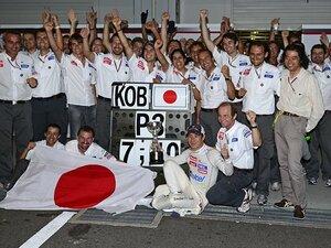 亜久里との勝負から14年後――。日本GPでの可夢偉の3位激走を追う。