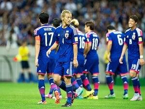 2年ぶりの直接FK弾を蹴り込むために。本田ら選手にハリルが仕掛けた挑発。