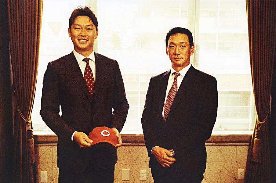 「カープはこのまま終わらない」新井貴浩のエールと鯉党の想い。<Number Web> photograph by Naohiro Kurashina
