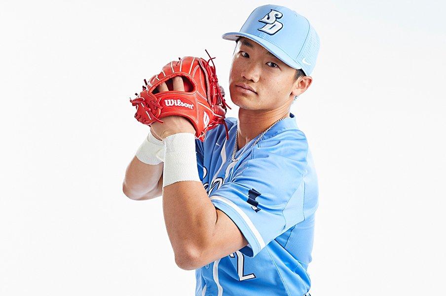 大塚虎之介MLBドラフト指名漏れ。大リーガーの父、王貞治の助言も。<Number Web> photograph by Toranosuke Otsuka