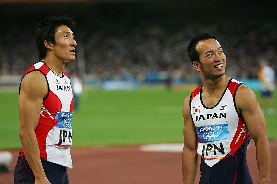 <オリンピック4位という人生(11)>アテネ五輪男子リレー・土江寛裕<Number Web> photograph by AFLO