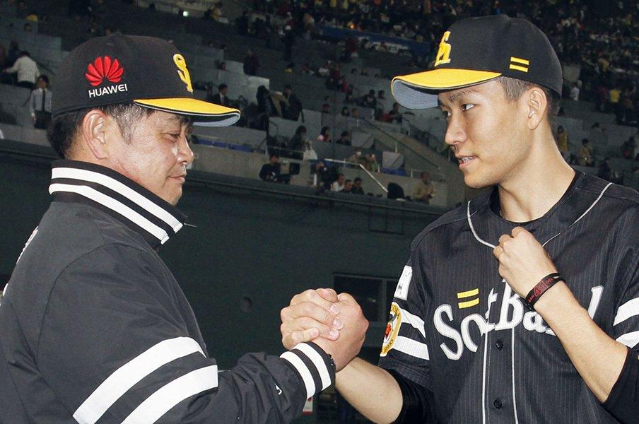 「次も行くぞ!」「勘弁してください」WBCで化けた千賀滉大の精神力。<Number Web> photograph by Kyodo News