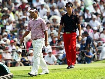 石川・薗田時代突入か?今後の名勝負に要注目。~若返りが進む男子ゴルフ界~<Number Web> photograph by AFLO